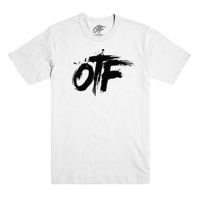Lil Durk OTF Logo Tee in White