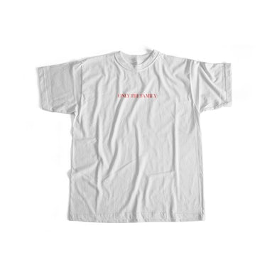 Only The Family Tee White