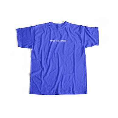 Only The Family Tee Blue