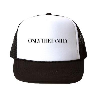 Only The Family Trucker Hat Black