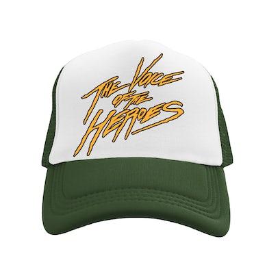 Lil Durk VOTH 2 Tone Trucker Hat Green/Gold