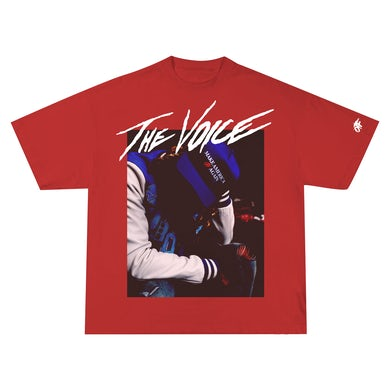 The Voice Hats Off Tee Red