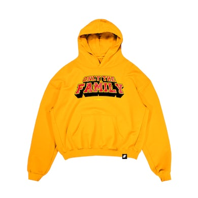 Lil Durk Only The Family Hoodie Yellow