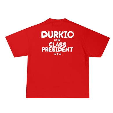 Lil Durk Durkio For Class President Tee Red