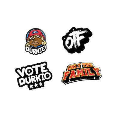 Lil Durk OTF Pin Set