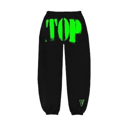 YoungBoy Never Broke Again YoungBoy NBA X VLONE TOP Sweatpants in Green + Digital Album