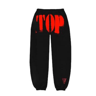YoungBoy Never Broke Again YoungBoy NBA X VLONE TOP Sweatpants in Red + Digital Album