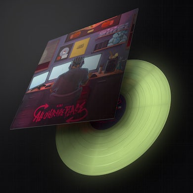 """KSI """"ALL OVER THE PLACE"""" 12"""" GLOW IN THE DARK VINYL"""
