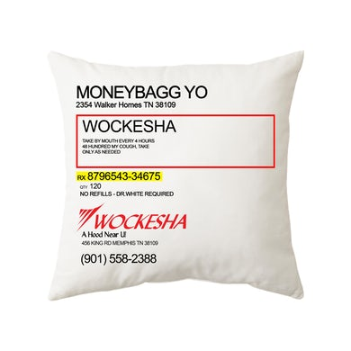 Moneybagg Yo Wockesha Pillow