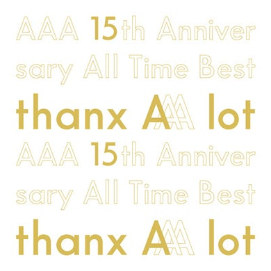 [Limited Edition] AAA 15th Anniversary All Time Best -thanx AAA lot-(5CD)