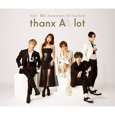 AAA 15th Anniversary All Time Best -thanx AAA lot-(4CD)[Regular Edition]