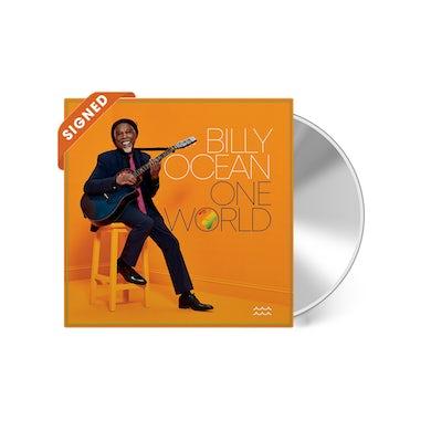 Billy Ocean One World Album (Signed CD)
