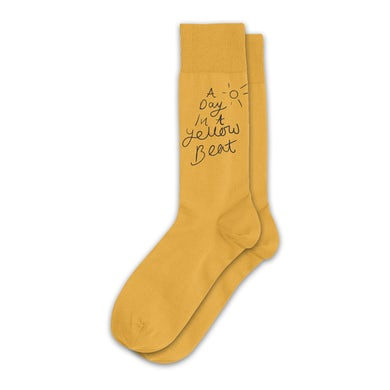 Yellow Days Yellow Beat Socks