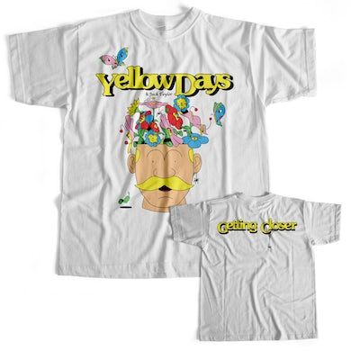 Yellow Days Getting Closer Tee X Jack Taylor