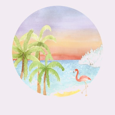 James Vincent Mcmorrow Post Tropical Watercolour Limited Edition Print