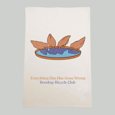 Bombay Bicycle Club Everything Else Has Gone Wrong Teatowel