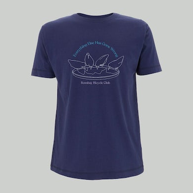 Bombay Bicycle Club Everything Else Has Gone Wrong Tee (Navy)