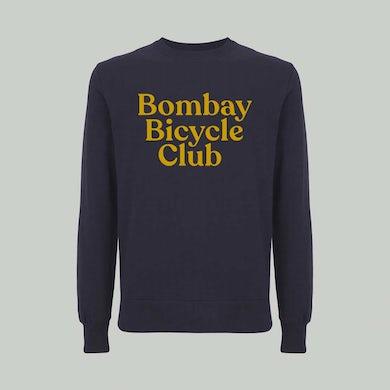 Bombay Bicycle Club Logo Navy Sweatshirt