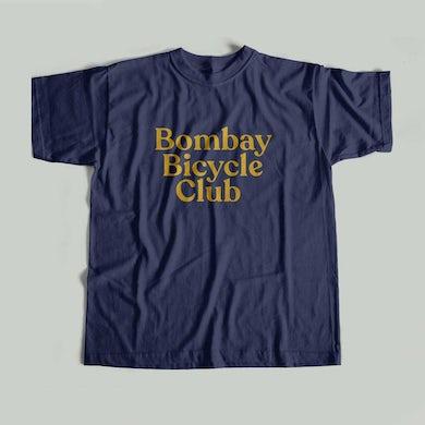 Bombay Bicycle Club Logo Navy T-Shirt