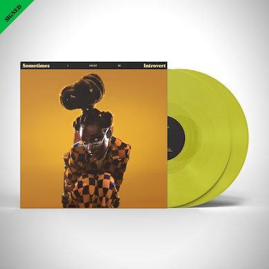 Sometimes I Might Be Introvert Vinyl (Translucent Yellow) - Signed Insert