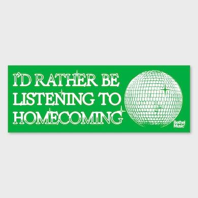 Bethel Music. Homecoming Bumper Sticker