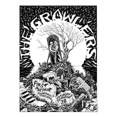 The Growlers Limited Edition 9/28/2019 Minneapolis, MN Poster