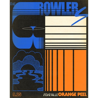 The Growlers Limited Edition 9/25/2019 Asheville, NC Poster