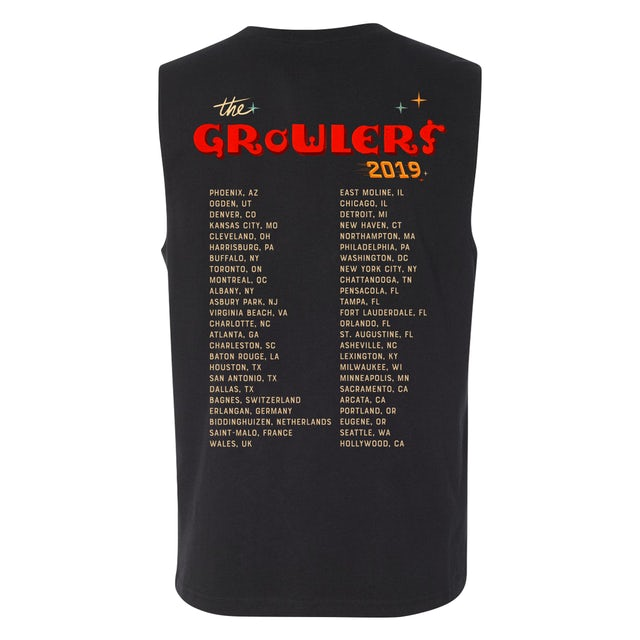 The Growlers 2019 Tour Muscle Tank