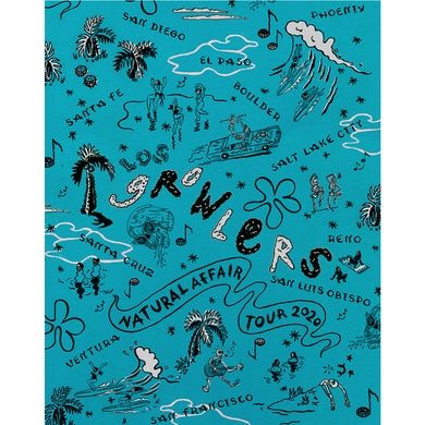 The Growlers Limited Edition Spring Tour 2020 Poster (Blue)