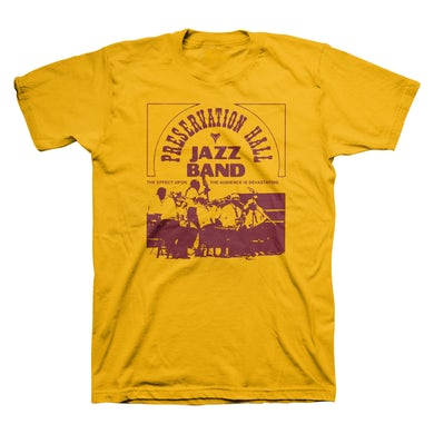 Preservation Hall Jazz Band Kid Thomas Tee (Gold)