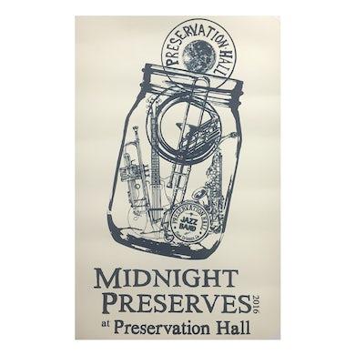Preservation Hall Jazz Band Midnight Preserves Poster