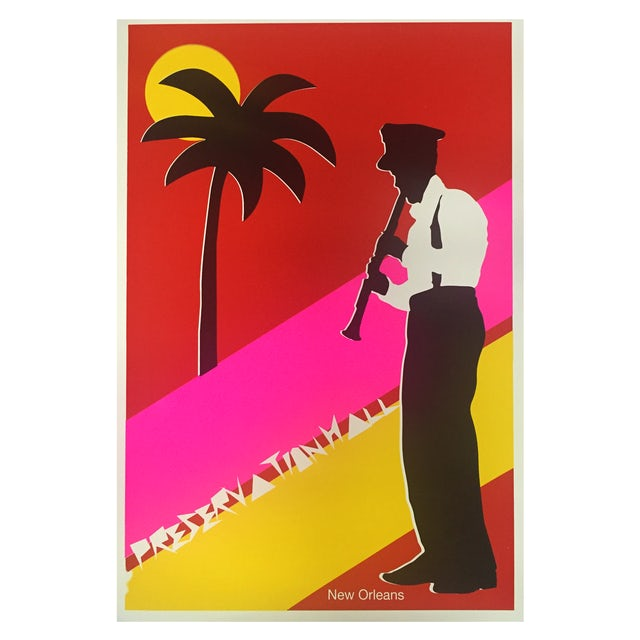 Preservation Hall Jazz Band Clarinet Man Poster