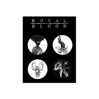 Royal Blood Button Pack