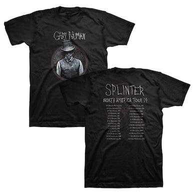 Gary Numan Splinter 2014 Tour T-Shirt