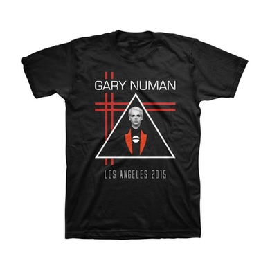 Gary Numan Generic Retro LA 2015 Unisex Tee