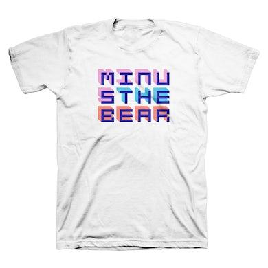 Minus The Bear Pixel Letters Tee