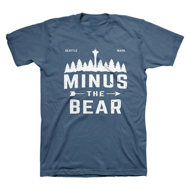 Minus The Bear Piney Unisex Tee