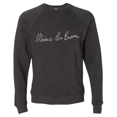 Minus The Bear Script Crewneck Sweatshirt