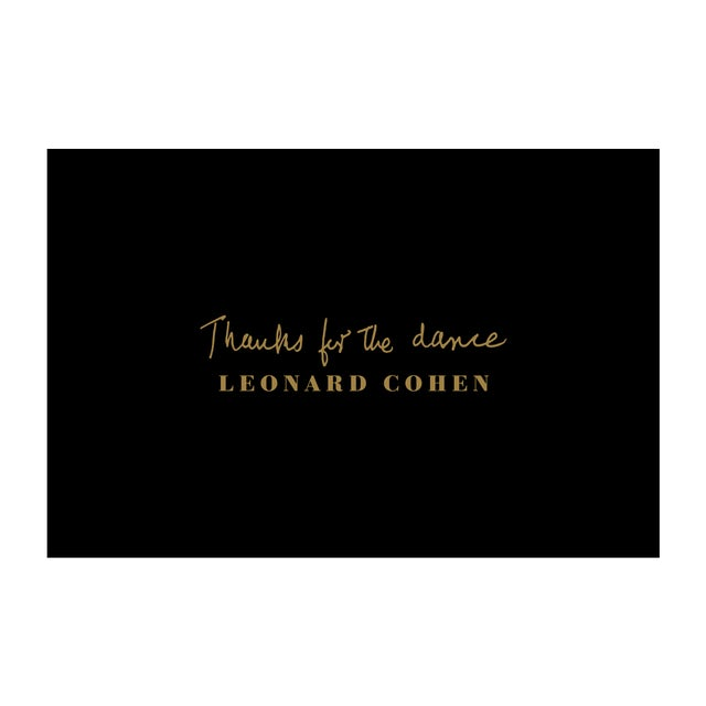 Leonard Cohen Thanks For The Dance Postcard Bundle - CD