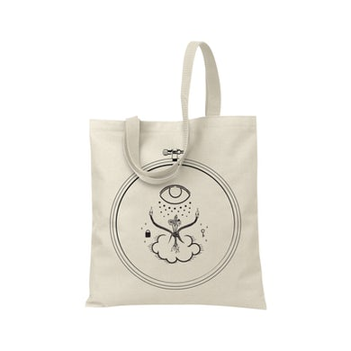 Into It Over It Cover Canvas Tote