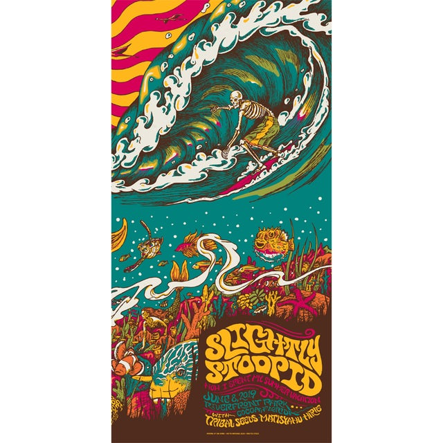Slightly Stoopid Cocoa, FL - 6/8/19 Show Poster