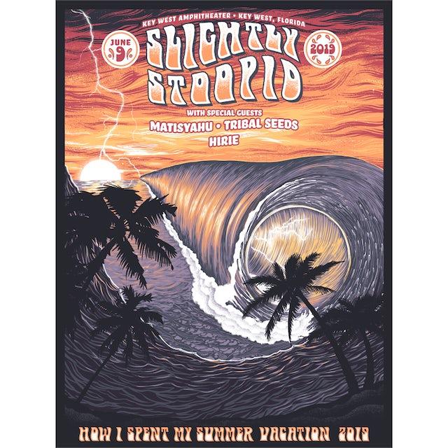 Slightly Stoopid Key West, FL - 6/9/19 Show Poster