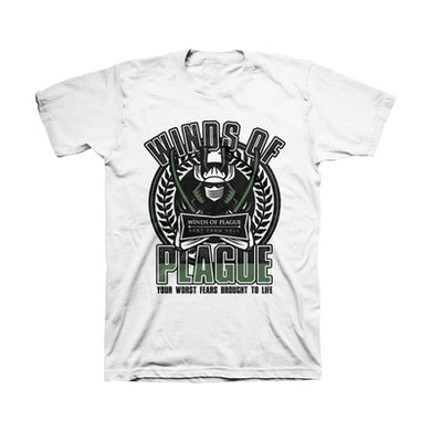 Winds Of Plague Sent From Hell Crest Unisex Tee