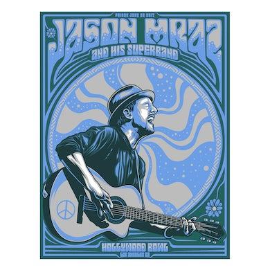 Jason Mraz Hollywood Bowl Poster