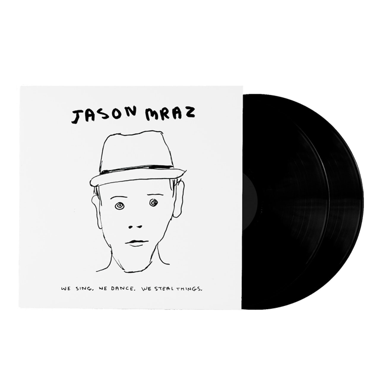 Jason Mraz We Sing, We Dance, We Steal Things Double LP (Vinyl)