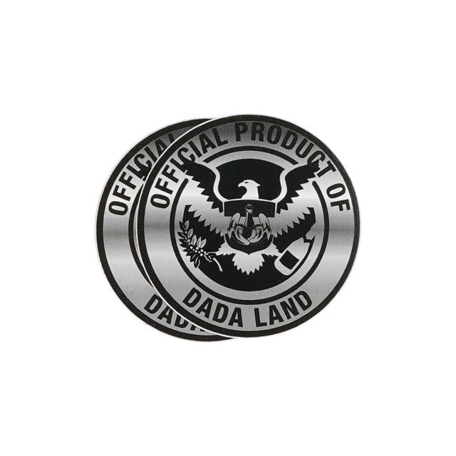 Dada Life Dada Land Crest Stickers