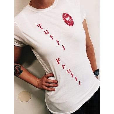 Tutti Frutti/Emblem Women's Tee White/Pink