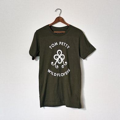 Tom Petty Classic Logo Military Tee