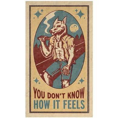Tom Petty You Don't Know How it Feels Wolf Print