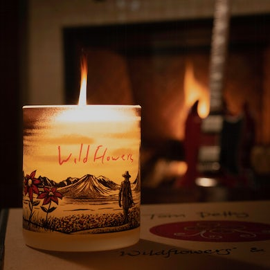 Tom Petty Limited Edition Wildflowers Candle